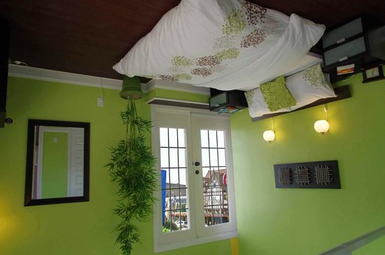 Upside Down House - inside