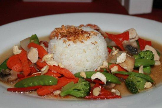 Caramel Restaurant at Kamuela Villas Sanur: Rice