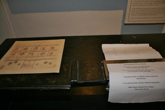 Gallatin History Museum: Used to fingerprint prisoners.