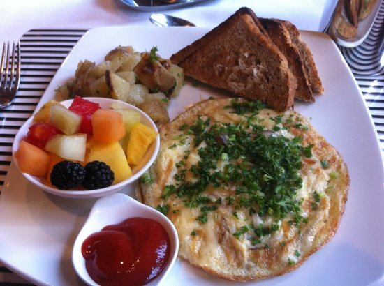 Union Bank Inn : Blue crab frittata