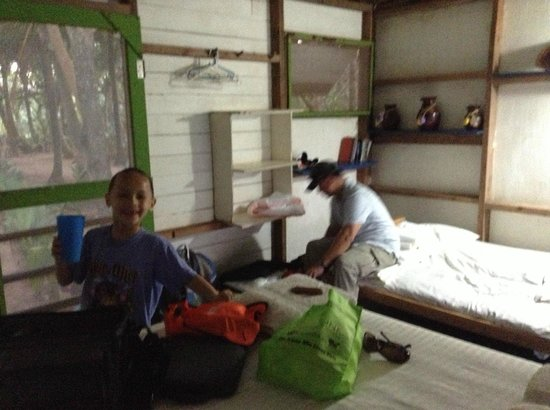 Casa Iguana: Inside casita - slept 4