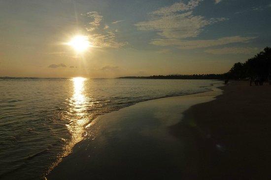 Grand Bahia Principe El Portillo: Lever du soleil