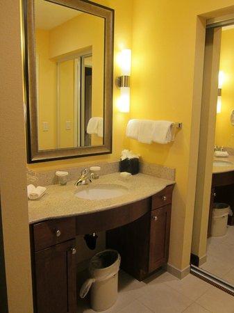 Homewood Suites by Hilton Reno: One bedroom King Suite bathroom sink