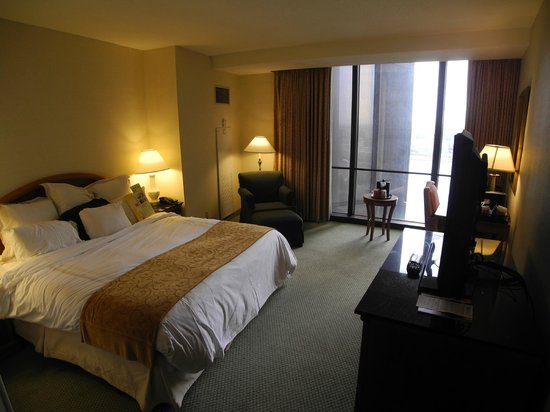 Detroit Marriott at the Renaissance Center: King with a view