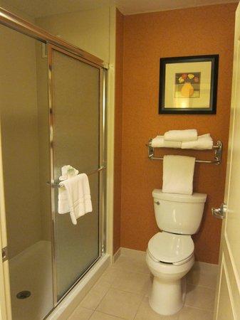 Homewood Suites by Hilton Reno: One bedroom King Suite bathroom