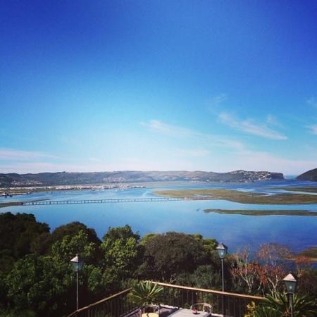 Villa Mulligan Südafrika Knysna von Iphone fotografiert