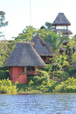Napo Wildlife Center Ecolodge: The lodge