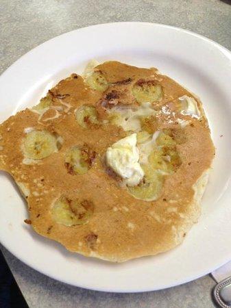 Annamarie's Place: mini pancake with bananas