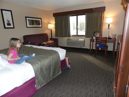 AmericInn Hotel & Suites Duluth South — Black Woods Convention Center : Spacious room