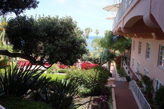 La Valencia Hotel: Ocean view