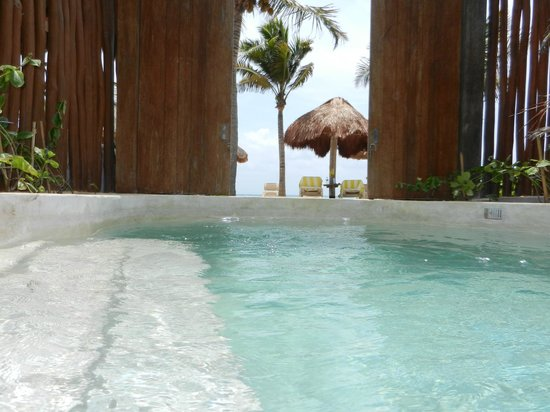 Mahekal Beach Resort: private pool 4c