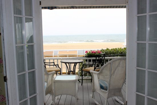 An Inn on the Ocean: View from the Veranda room