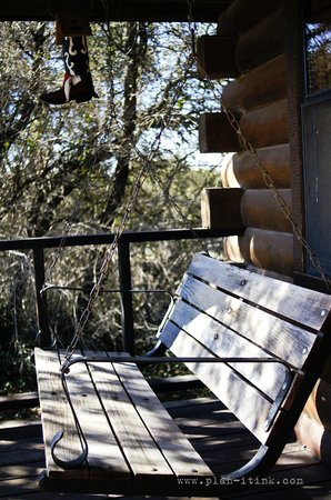 The Hideaway Ranch & Retreat: porch relaxation