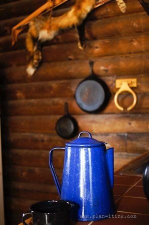The Hideaway Ranch & Retreat: Some cabins are rustic....and some are luxurious.