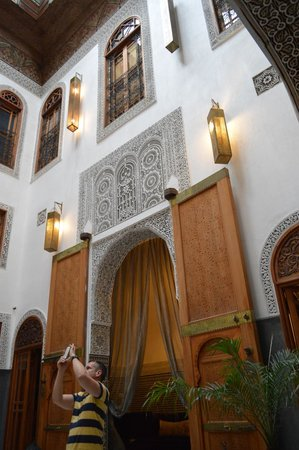 Riad Layla : Beautiful architecture