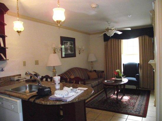Westgate Historic Williamsburg Resort: Living area