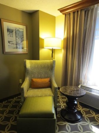 Hilton Garden Inn Washington, DC Downtown: Trendy decor
