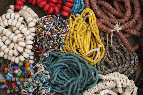Peacock Pavilions : Moroccan Beads