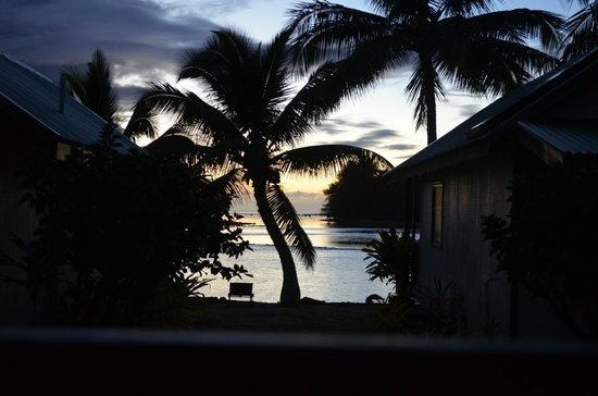 Aroko Bungalows: Beautiful Sunrise