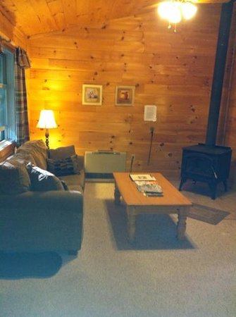 Sterling Ridge Resort: cozy living room