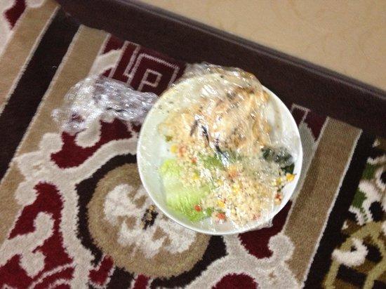كراون بلازا أوكلاهوما سيتي: Plate of food