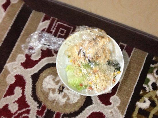 Crowne Plaza Oklahoma City : Plate of food