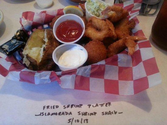 Islamorada Shrimp Shack : Fried Shrimp