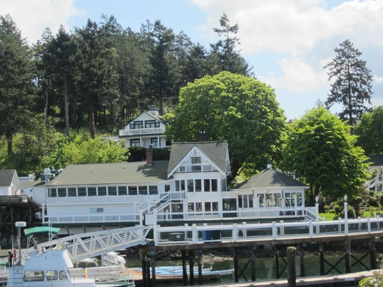 Roche Harbor Resort: lunch on harbor