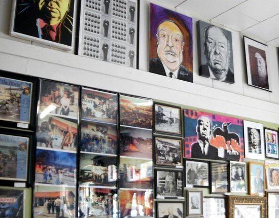Bodega Country Store: Walls are covered with pictures and stories