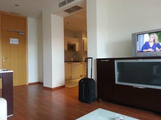 Apartamentos ATH Domocenter: Living area