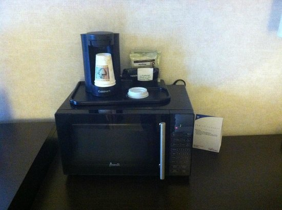Holiday Inn Baltimore-Inner Harbor: The coffee was o.k., nothing special