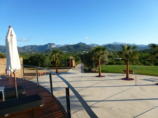 Sa Cabana Hotel Rural & Spa: View from dining room