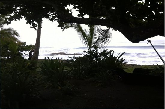 La Piscina Natural: Ocean Front View From Hammock Area Of Hotel.