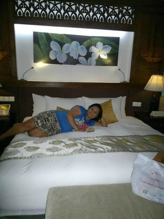 The Cocoon Boutique Hotel: very soft bed