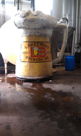 Lakefront Brewery : Beer Mug from County Stadium