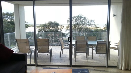 Space Holiday Apartments: Balcony