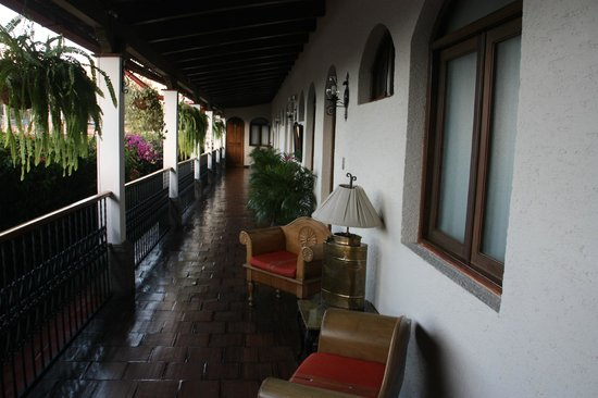 Casa Florencia Hotel: Second Floor Balcony