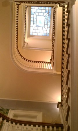 Gryphon House : Majestic Stairs leading to 4th floor.