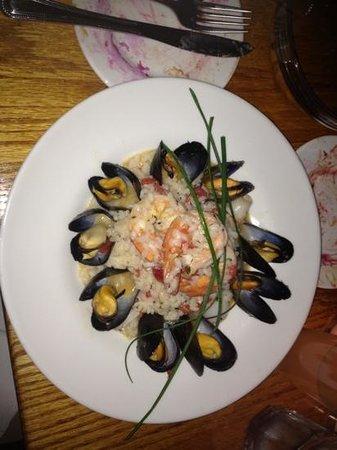 Spring Street Natural Restaurant: Rissotto di mare