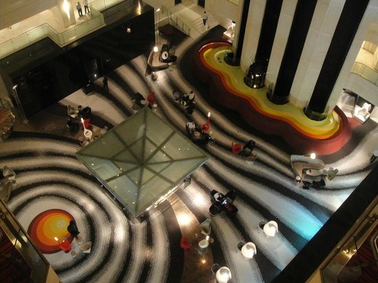 Le Meridien New Delhi: Business Area