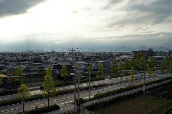 Chisun Inn Marugame Zentsuji: 5階からの展望