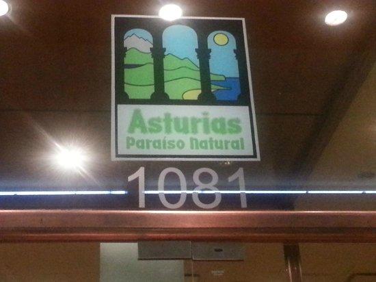Restaurante Centro Asturiano de Buenos Aires: entrada - nombre