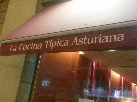 Restaurante Centro Asturiano de Buenos Aires: cartel
