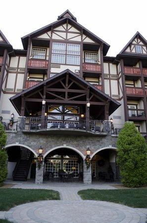The Inn at Christmas Place: Balcony