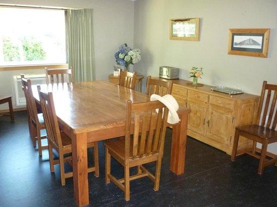 Aoraki Lodge : Breakfast area