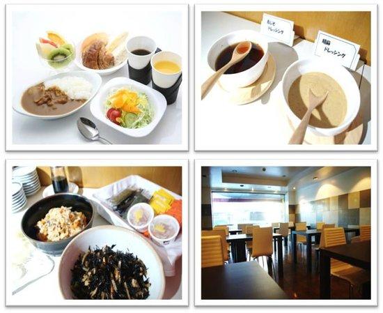 Select Inn Fujisan Gotemba: 手作りカレー朝食
