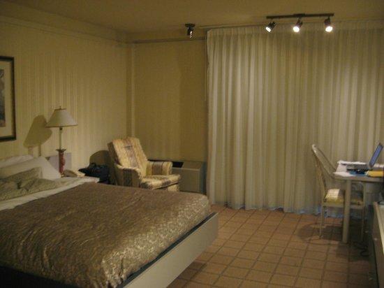 Hôtel Québec Inn : Chambre. au plancher