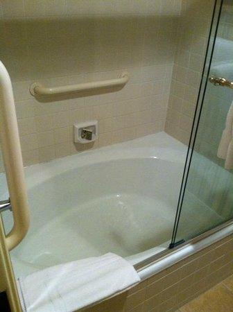 Vintners Inn: shower/tub