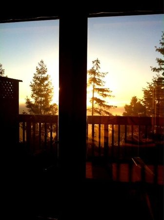 Mountain Home Inn: Morning view from my bedroom