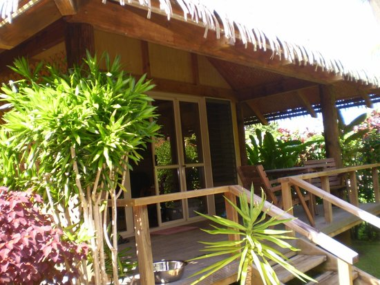Muri Beach Hideaway : Lotus Bungalow Deck